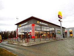 McDonald's resturant på Tiller i Trondheim (2)