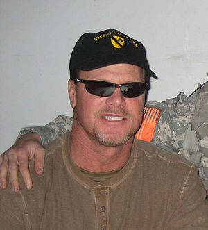 """Former football star Jim McMahon during the """"R..."""
