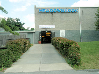 North Baltimore Aquatic Club - Meadowbrook Aquatic Center, one of three facilities NBAC uses.