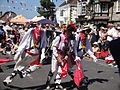 Mechanical Morris Dancers at Yarmouth Old Gaffers Festival 2011 10.JPG