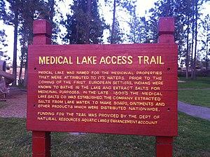 Medical Lake, Washington - Image: Medlak 1