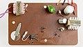 Meister-Anker Electronic Digital Uhr - top side printed circuit board-2191.jpg