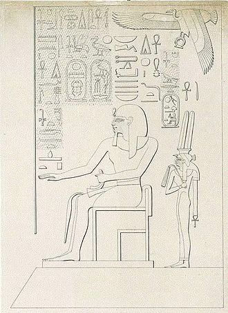 Merytre-Hatshepsut - Merytre Hatshepsut depicted in the temple of Tuthmosis III in Medinet Habu.