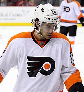 Michael Del Zotto - Image: Michael Del Zotto Philadelphia Flyers