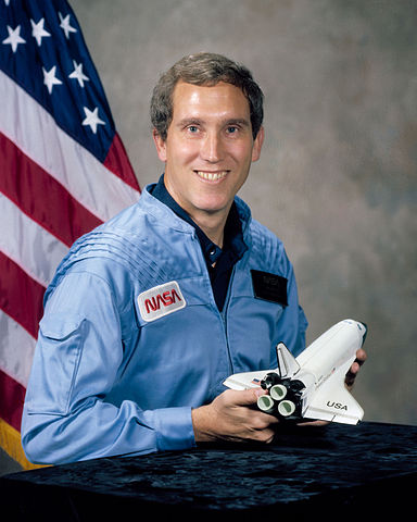 Astronaut Michael J. Smith, NASA photo (8 January 1981)Source: Wikipedia (NASA site unavailable January 2019) 384px-Michael_Smith_%28NASA%29.jpg