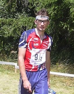Michal Smola Czech orienteerist