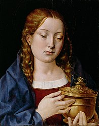 Michael Sittow: Catherine of Aragon as the Magdalene