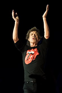 Mick Jagger onstage in Warsaw 2018.jpg