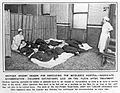 Middlesex Hospital; patients lying on floor after operation. Wellcome L0016008.jpg