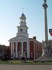 Mifflin County Courthouse and War Memorial Apr 10.JPG