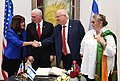 Mike Pence visit at Beit HaNassi, January 2018 (3570).jpg