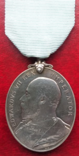 Militia Long Service Medal Award