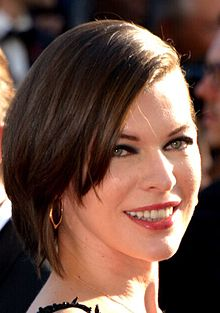 Milla Jovovich - the hot, beautiful, sexy, actress, model, with Russian, Serbian, roots in 2020