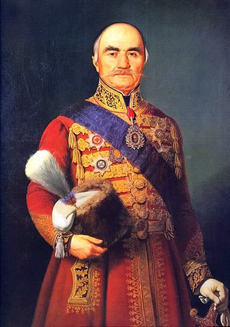 History of Serbia - Miloš Obrenović, leader of the Second Serbian Uprising and the first Prince of Serbia