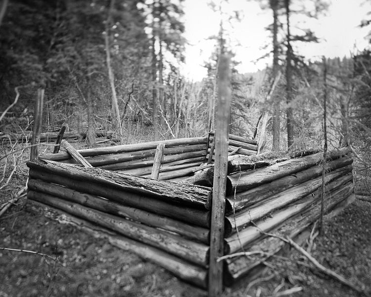 File:Miner's old cabin near Whitehorse, Yukon (12232855413).jpg