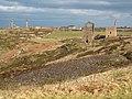 Mining landscape near Botallack - geograph.org.uk - 1723770.jpg
