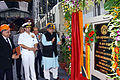 Minister of Defence Arun Jaitley inaugurating Module Work Shop at Mazagaon Dock Mumbai.jpg