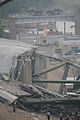 Minneapolis I-35W Bridge Collapse (Police-car hanging) (980539783).jpg