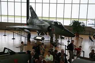 Swiss Air Force - Swiss Dassault Mirage IIIRS recon on display