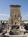 Miskolc, Diósgyőr, hrad, věž,.jpg