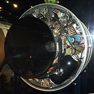 Missile-S3-Moteur-fusee-du du 2eme etage Musee du Bourget