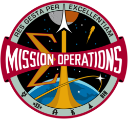 Mission Operations Directorate (MOD) emblem