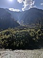 Misty Mountain - View over Neelum River northeast of Sharda, in Sharda tehsil, Azad Kashmir.jpg