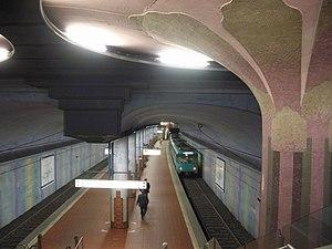 Westend (Frankfurt am Main) - U-Bahnhof Westend