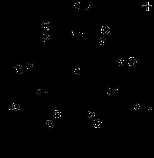 Manganese(III) acetate - Image: Mn 3O(O Ac)6