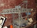 Model crane, Wirral Transport Museum.JPG