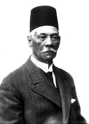 Egyptian parliamentary election, 1926 - Image: Modern Egypt, Saad Zaghloul, BAP 14785