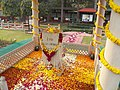 Mohandas K. Gandhi, Memorial assassination spot, 2013.jpg