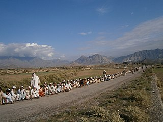 Baizai Place in Federally Administered Tribal Areas, Pakistan