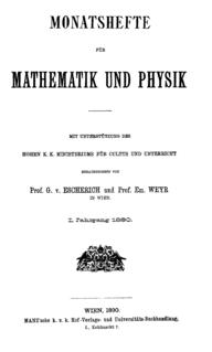 <i>Monatshefte für Mathematik</i> Academic journal