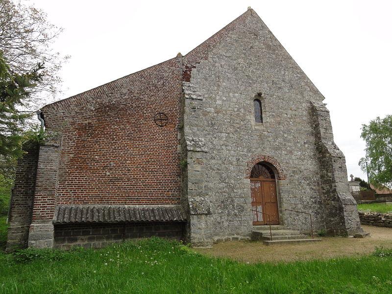 Monceau-lès-Leups (Aisne) église