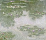 Monet - Nymphéas (Water Lilies), 1907.jpg