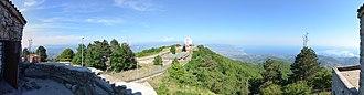 Monte Stella (Cilento) - Image: Monte Stella Panorama