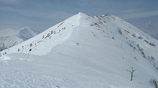Monte Birrone Mountain in Italy
