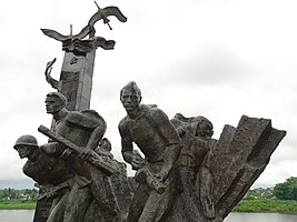 Monument to the 23 Guardsmen - Dvina River - Polotsk - Vitebsk Oblast - Belarus (27553308711).jpg