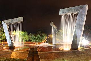 Segundo lugar: Monumento a las Arpas en Villavicencio. Autor: Monchis.