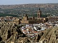 Moorish Castle - Cathedral - in Guadix Spain - panoramio.jpg