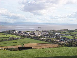 Morecambe Bay - Morecambe Bay from Ulverston