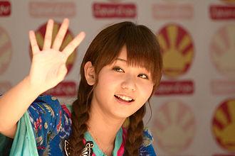 Junjun (singer) - At Japan Expo 2010, Paris, France.