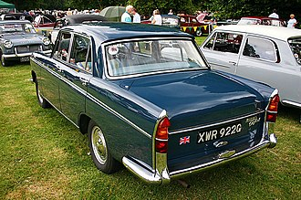 Morris Oxford Farina - Image: Morris Oxford Series VI rear