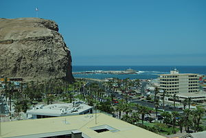 Arica - The morro de Arica is one of the major attractions in the city