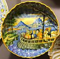 Moulded plate, Italy, Urbino, or possibly France, late 1500s, maiolica - Museum of Anthropology, University of British Columbia - DSC08997.jpg