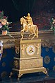 Mounted officer mantle clock (27987450239).jpg