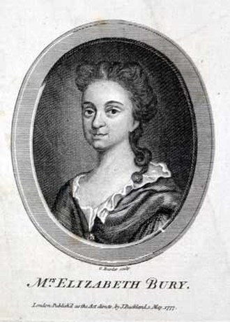Elizabeth Bury - Mrs. Elizabeth Bury