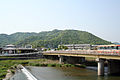 Mt.Shosha and Yumesaki River.jpg