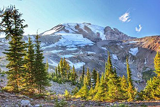 Mount Adams Recreation Area - Image: Mt. Adams from Bird Creek Meadows 03